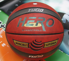 Superior PU 7# Basketball with good bouncing Customized basketball