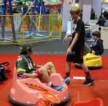 qiqu cheap adult battery bumper car /electric car for kids with remote control