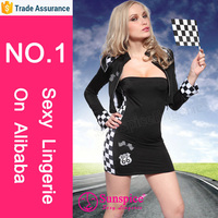 sunspice sexy lingerie sexy girl race car driver costume halloween adult fancy dress