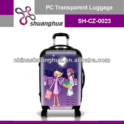 new design president suitcase luggage