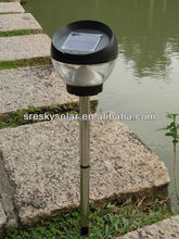 Fancy Lawn And Garden Led Solar Outdoor Lamp Lantern Light Panel