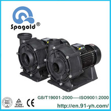High efficiency swimming pool water treatment pump