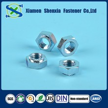 High precision top internal thread standard size bolt and nut