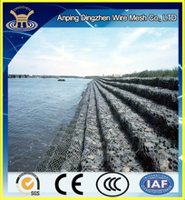 Sale Cheap Retaining Wall Metal Wire Mesh Gabion Box Stone Cage and soil erosion