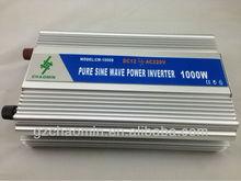Hot&Decent!! dc12v/24v to ac220v/110v Pure sine wave inverter 1000W frequency inverter