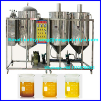 crude palm oil refinery/soybean oil refining machine