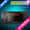 """Xtrons PF7139BGT 7"""" HD touch screen car audio system for BMW E53 / X5 with GPS navigation"""
