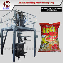 Automatic Snack Bag Packing Machine, DXDK-800 HONDON brand, max 1400ml, 1kg, beans, grains, seeds, nuts, chips