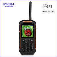 Factory Rugged Mobile Phone Runbo X6 IP67 Waterproof gps walkie talkie anti-shock rough diamonds