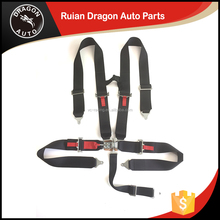 High quality 3 inch 5 latch link bride red 5-point harness racing seatbelt sefety belt