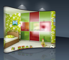children colorful textile wardrobe cabinets TOP SALE