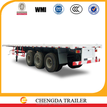 tractor head driving semi trailer with 12pcs container lock