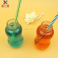 200ml calabash shaped fruit vinegar glass drinking bottle