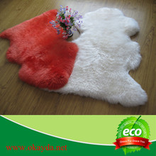wholesale sheepskin fur rug made in china