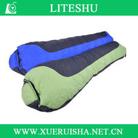 2014 latest products 80% white goose down army sleeping bag