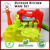 Amazon best sellier kitch ware picnic tableware plastic kitchen ware