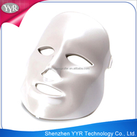 YYR hot sale phototherapy equipment home use facial mask fda approved led skin light
