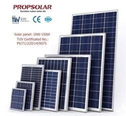 best price per watt pv solar panel 150w for home use