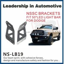 """02-08 led light bar roof mount brackets for 50"""" led light bar straight for Dodge Ram 1500"""