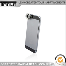 High quality 3 In 1 Universal Mobile Phone Lens for iphone for Samsung for HTC Fish Eye + Macro + Wide Angel Lens