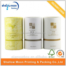 wholesale custom design cardboard tube box for herbs