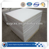 Building material pe material block uhmwpe wearstrips excellent quality natural white hdpe sheet uhmw plastic plate uhmwpe sheet