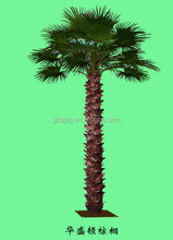 all kinds of palm tree Plastic artificial fake decorative metal outdoor palm trees for sale
