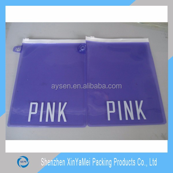 pvc packing bag for bikini
