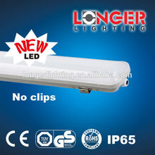 Ningbo factry longer led ip65 fluorescent light fixture 36w 4ft 4000k 6400k