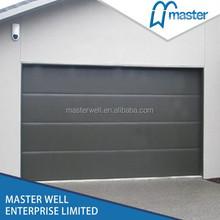 Remote Control Garage Door With Small Door For Sectional Door Used