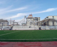shool bleacher stadium construction membrane high strength fireproof canopy cover