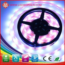 Protection to eyes Epoxy Tube Waterproof IP 68 outdoor led strip light wholesale price with CE $ROSH DC12v/24V smd120