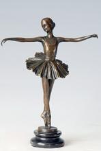 Ballet muchacha estatuas figura escultura de arte de la bailarina escultura Cast del arte del bailarín escultura Tpe-277