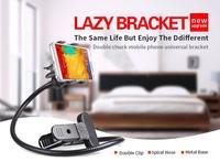 360 degree rotation Lazy Holder for Mobile Phone Mount On Desk/Bed/Table mobile phone bike holder
