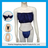 China disposable sexy bra and panty new design