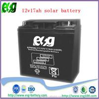 security system 12v17ah ups battery lead acid battery solar battery