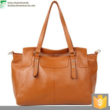 The latest design style vintage hobo real cow leather hand bag