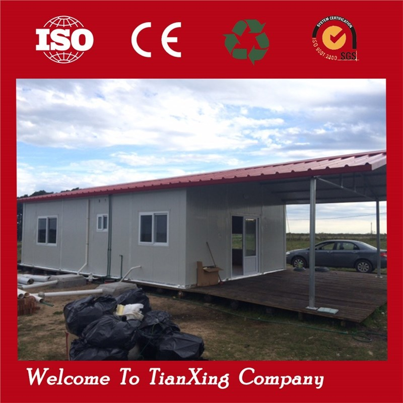 Eco friendly portable container cottages prefab house for sale for Environmentally friendly homes for sale