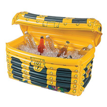 custom plastic Inflatable Treasure Chest Cooler