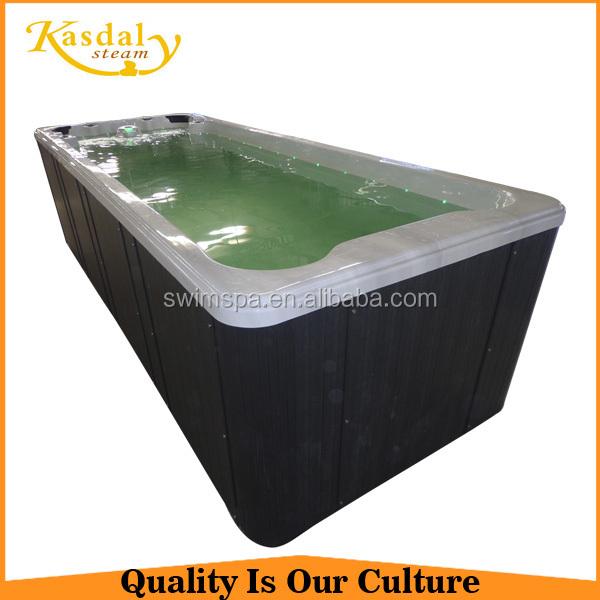 Современный дизайн прямоугольная большая роскошь ну вечеринку крытый портативный горячая ванна
