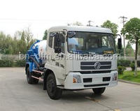 High quality Dongfeng 4x2 Fecal Suction Sewage Truck with ITALY Vacuum Pump small 5000L Sewel Jetting Water tanker truck