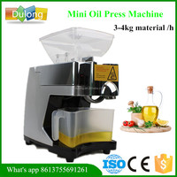 Professional DL-ZYJ07 hand operated almond oil press machine
