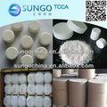 El ácido tricloroisocianúrico 3 tabletas de cloro 90% atcc para tratamiento de agua sdic