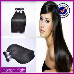 Top grade silky straight wholesale unprocessed soft indian virgin hair thick bundles
