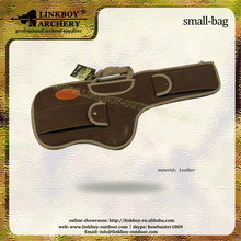 Wholesale linkboy LBG001A leather gun rifle bag for hunting