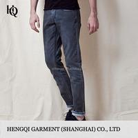 High-End black demin jeans for man wholesale