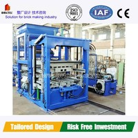 China NO.1 brick making tool High Quality Automatic Concrete Block Machine With best Price