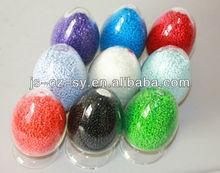 colored plastic pellet