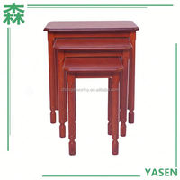 Yasen Houseware Red And Black Coffee Table For Sale,Modern Small Coffee Table,End Table /Telephone Table