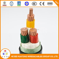 300/500V NYY NYM NYCYRY PVC Sheath Power Cable 3x2.5mm2